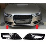 For Audi A4 B8 2012-2016 facelift RS look honeycomb fog...