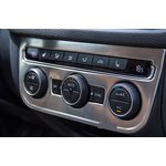 VW Tiguan stainless steel trim for heater rheostat