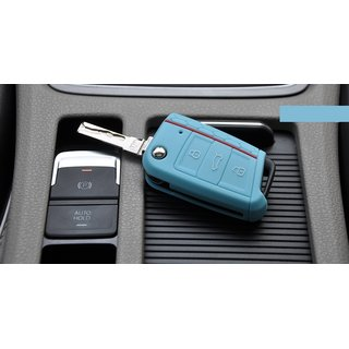 For VW Golf 7 VII folding key Key Cover Silicone Key Cover |