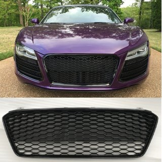 For Audi R8 RS look honeycomb Grill Grill bumper RSR 8 13-15 Facelift