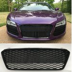 For Audi R8 RS look honeycomb Grill Grill bumper RSR 8...
