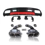 For Mercedes-Benz A-Class W176 AMG look rear apron black...