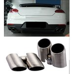 For Porsche Panamera 2014-2016 stainless steel exhaust pipes