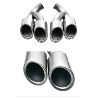 For Porsche Cayenne 2014-2016 stainless steel exhaust pipes