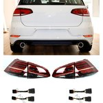 For VW Golf 7 2012-2018 Facelift Look Dynamic LED Taillights