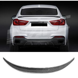 For Bmw X6 F16 carbon rear spoiler
