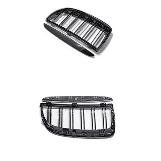 For Bmw 3er E90 & E91 Sport Black High Gloss Grill