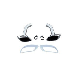 For Bmw X6 E71 8-cylinder look exhaust covers