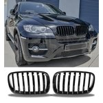 For Bmw X6 E71 Sport Black High Gloss Grill