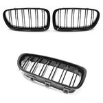 For BMW 5 Series F10 & F11 Sport Grill Black High Gloss