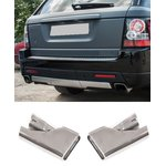 For Range Rover Sport L320 chrome exhaust covers