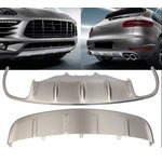 For Porsche Macan 95B Bumper Cover Brushed Stainless Steel